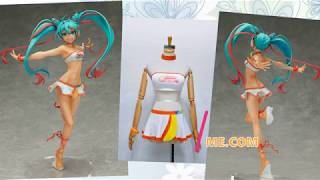 FM-Anime.com Vocaloid Racing Miku 2016 Thai Ver. Cosplay Costume 初音ミク レーシングミク2016 タイVer. コスプレ衣装